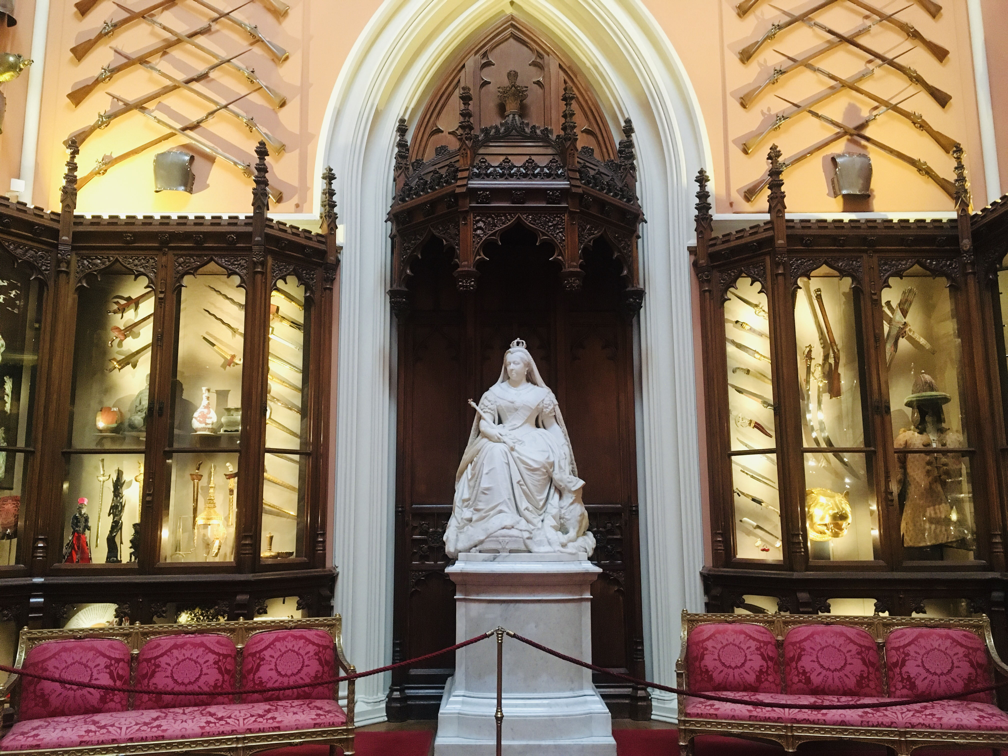 photograph of current display in the Grand Vestibule