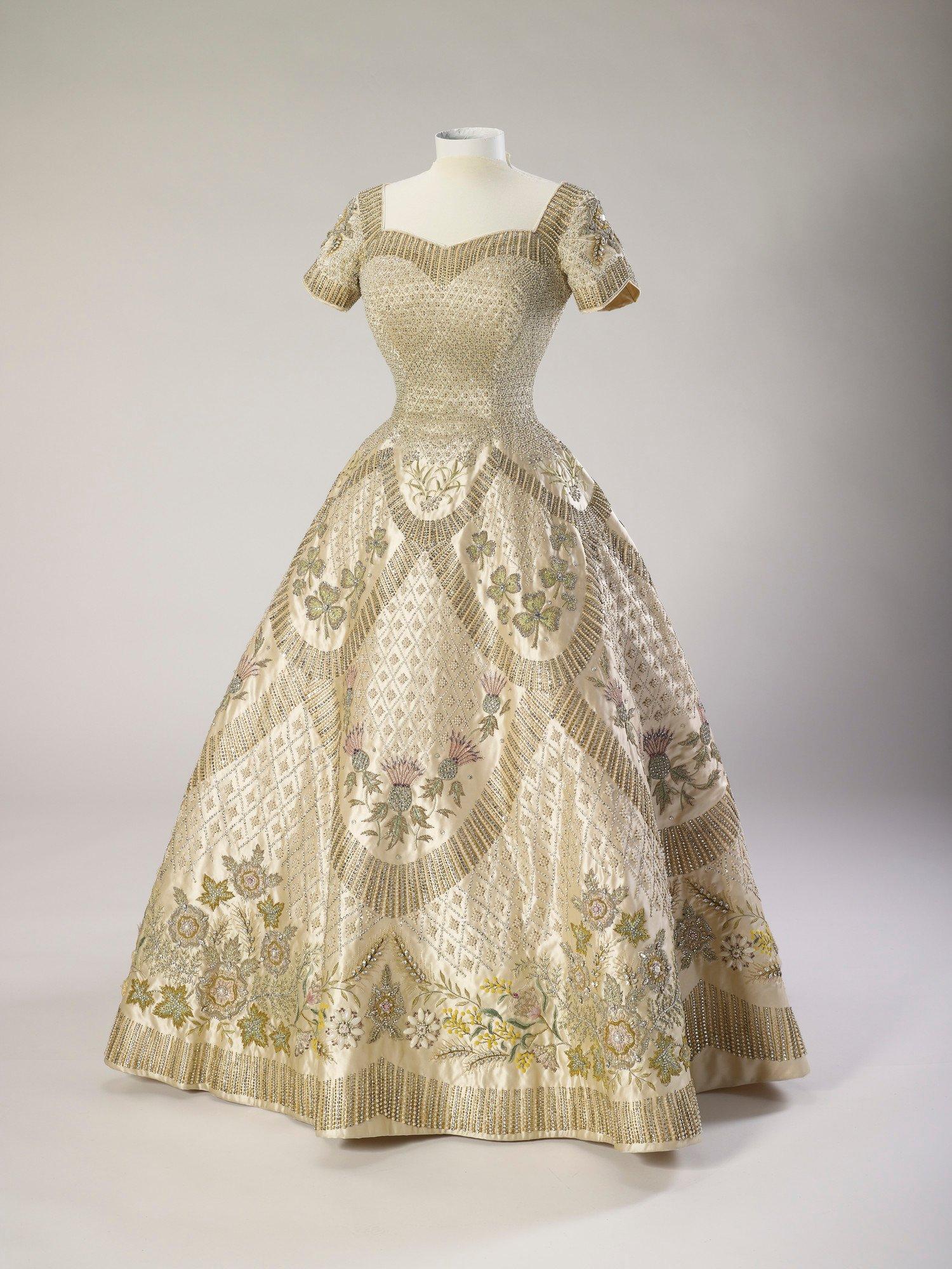 RCIN 250044 - Coronation dress