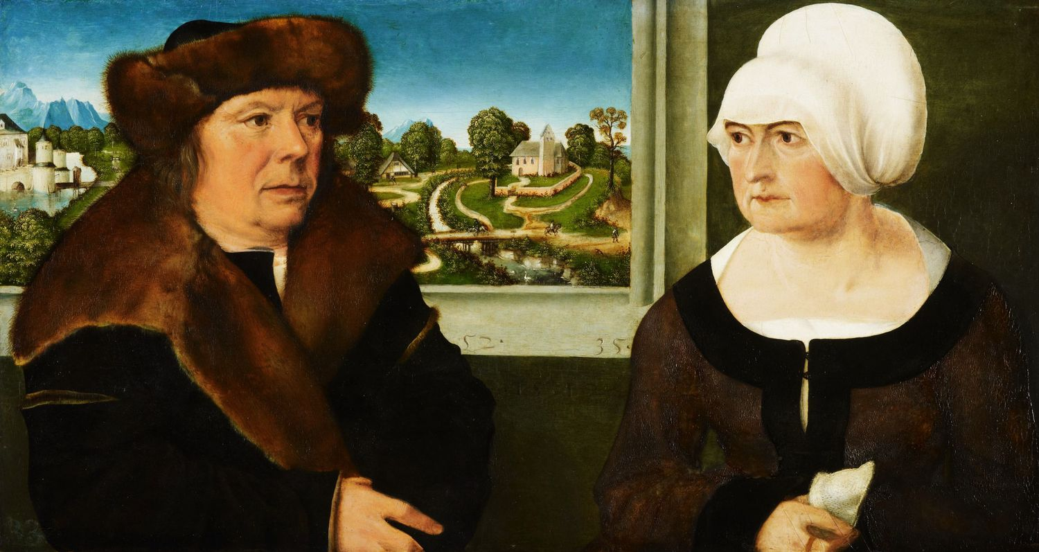 Ulrich Apt the Elder, A Man and his Wife, 1512