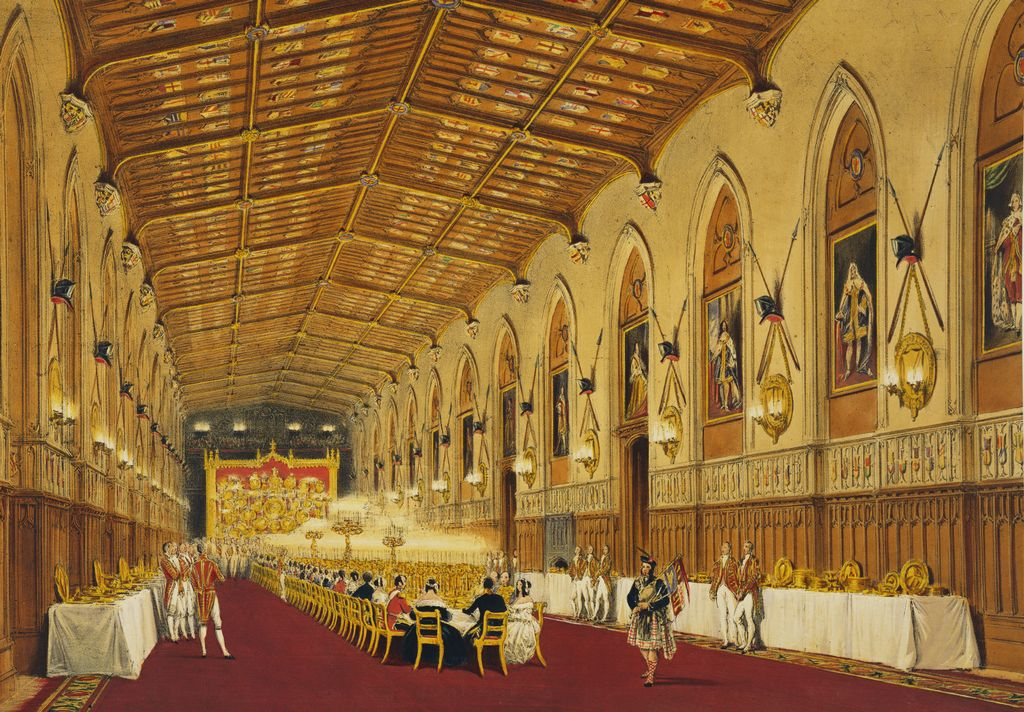 Joseph Nash 1809 78 Views Of The Interior And Exterior