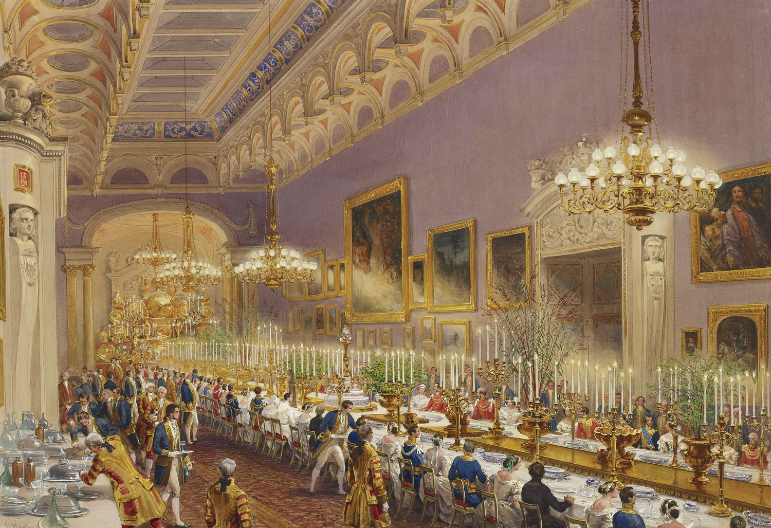 Image result for Buckingham Palace 1853