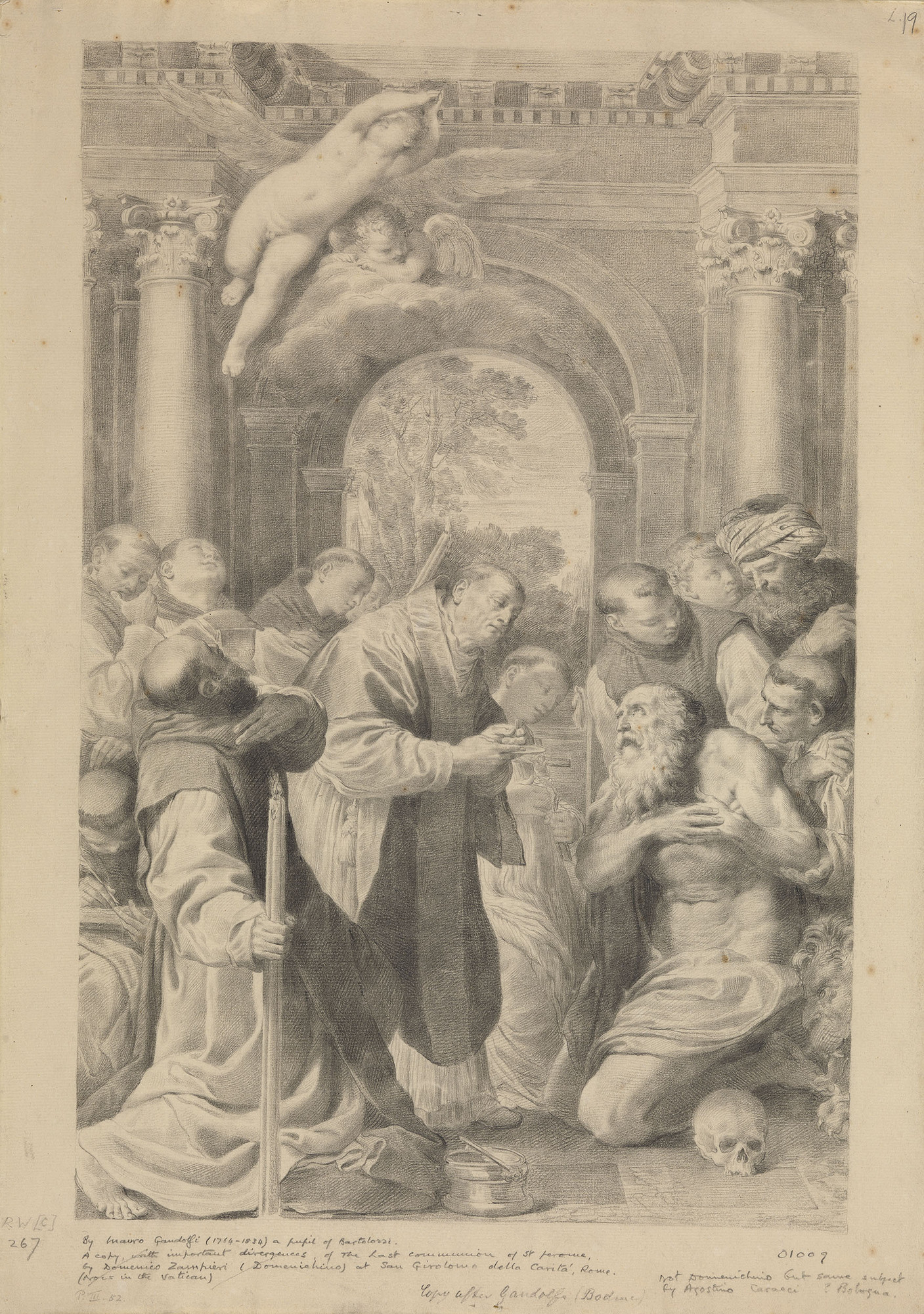 St Roch and the Angel - Annibale Carracci - WikiGallery
