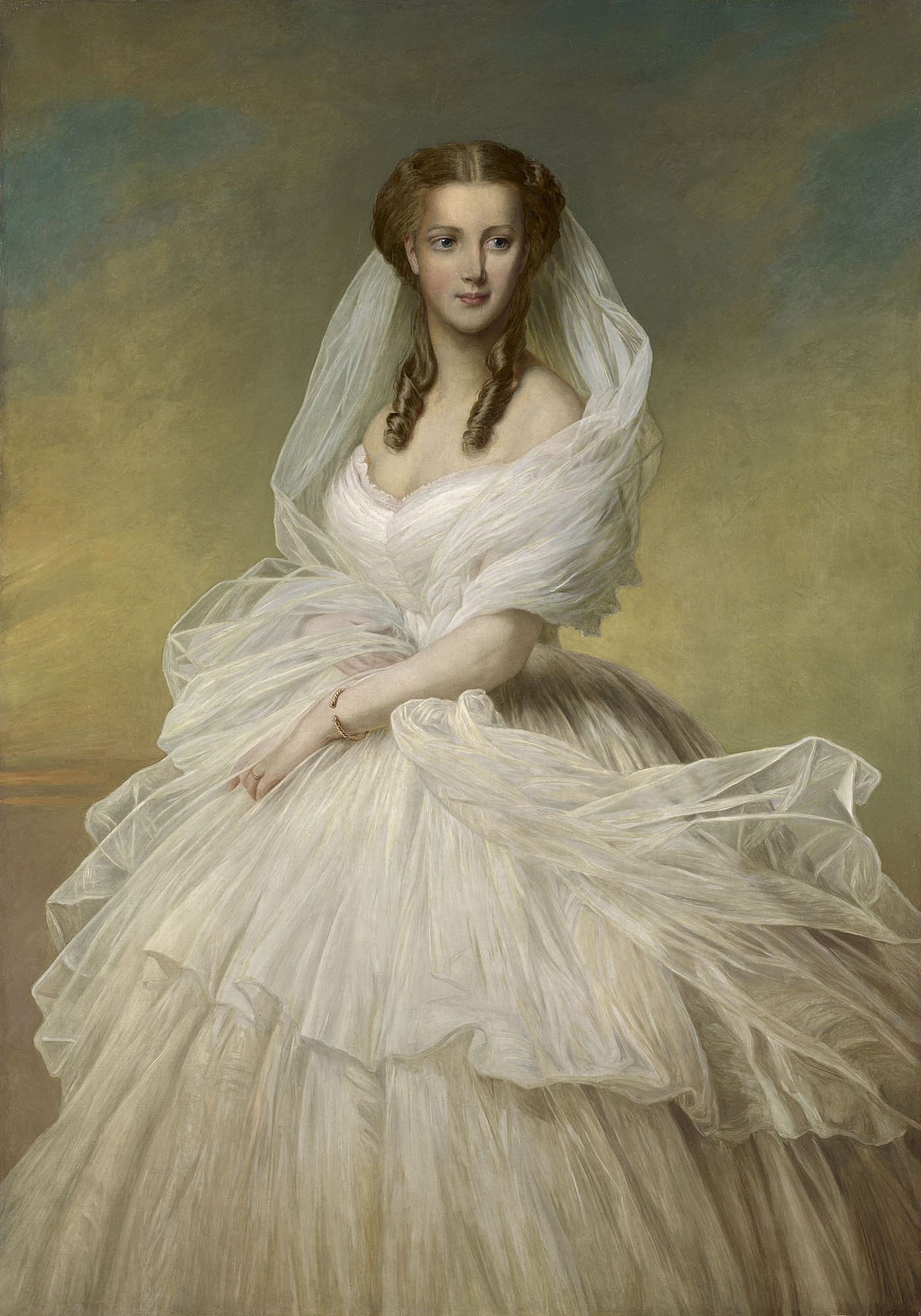 Uk Artist Painting Of Ladies