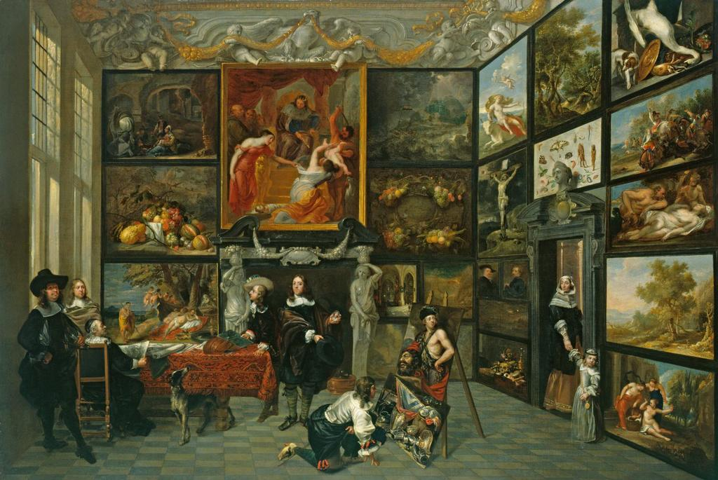 jacob de formentrou active antwerp 1640 59 a cabinet of pictures. Black Bedroom Furniture Sets. Home Design Ideas