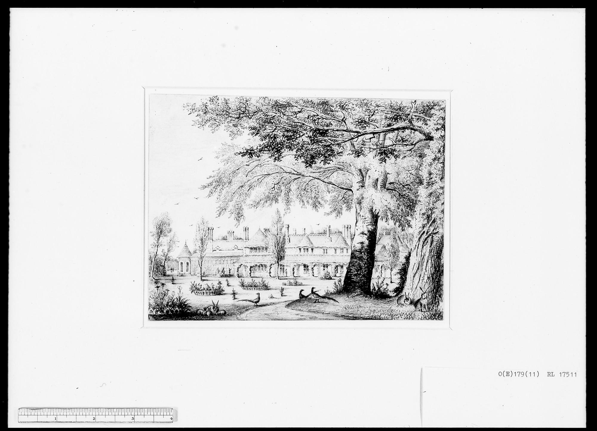 William Alfred Delamotte (1775-1863) - Royal Cottage