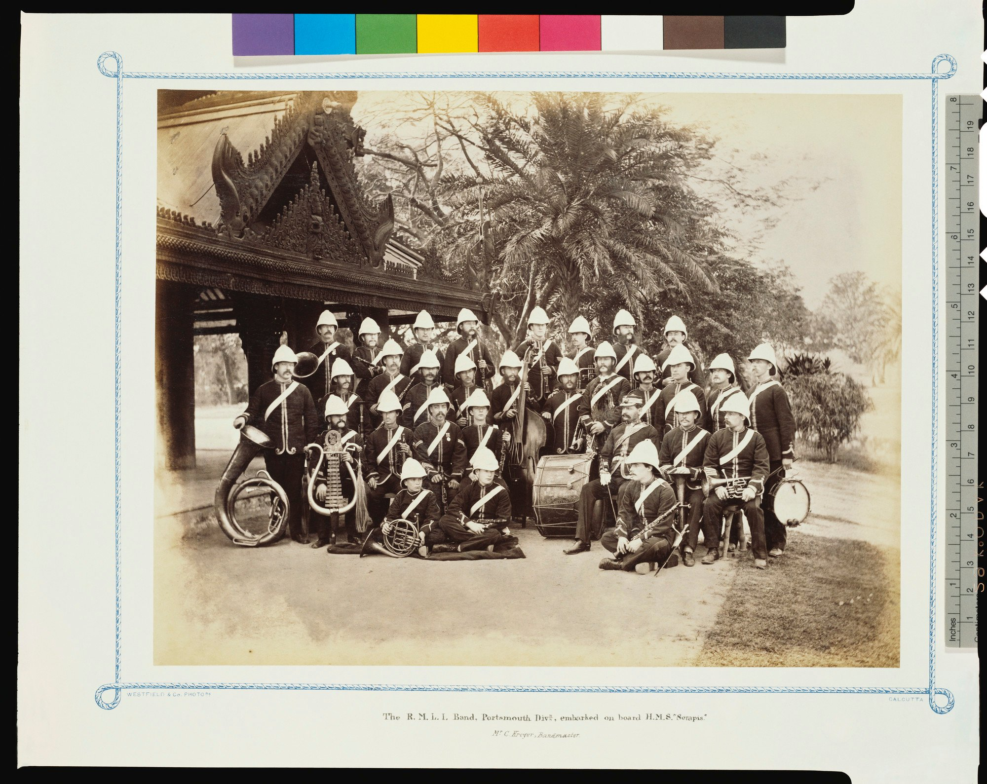 William BRITAIN Archive Collection British Royal Marine Light Infantry 49015 NEUF