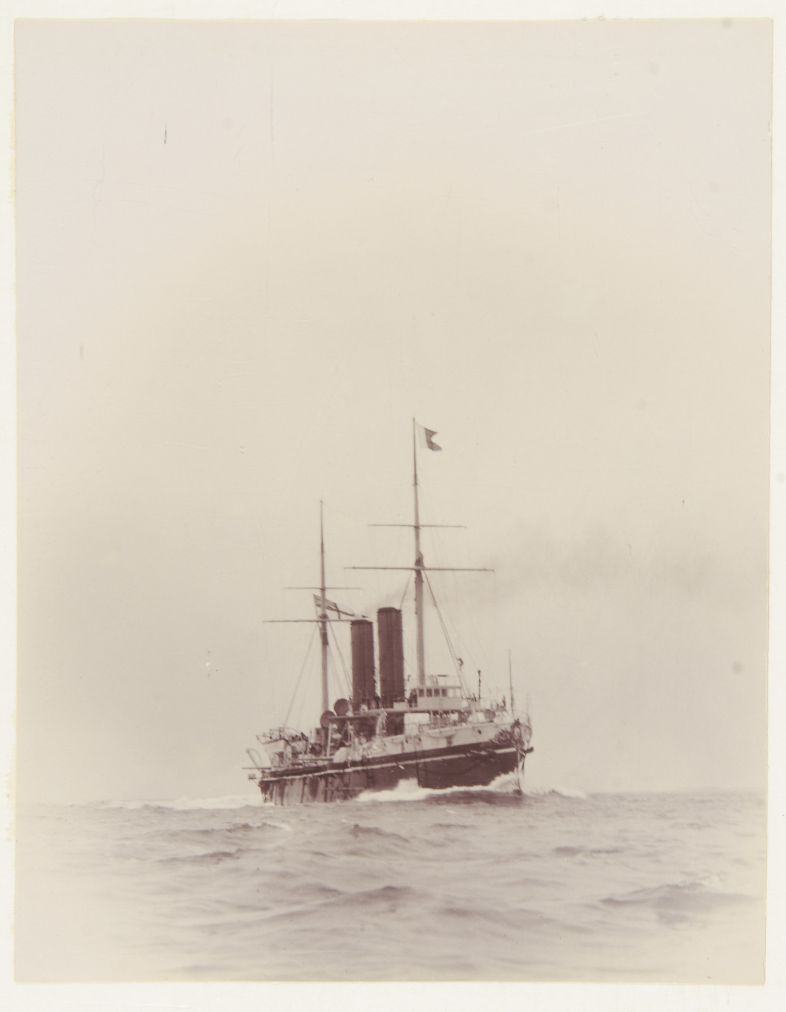 Жизнь крейсера на рубеже 20-го века