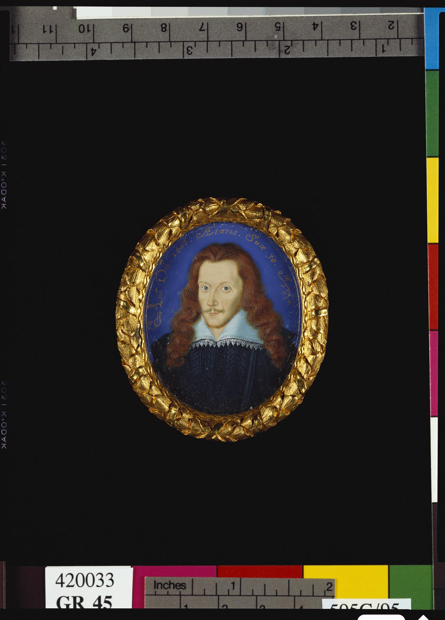 Nicholas Hilliard (1547-1619) - Henry Wriothesley, 3rd Earl of