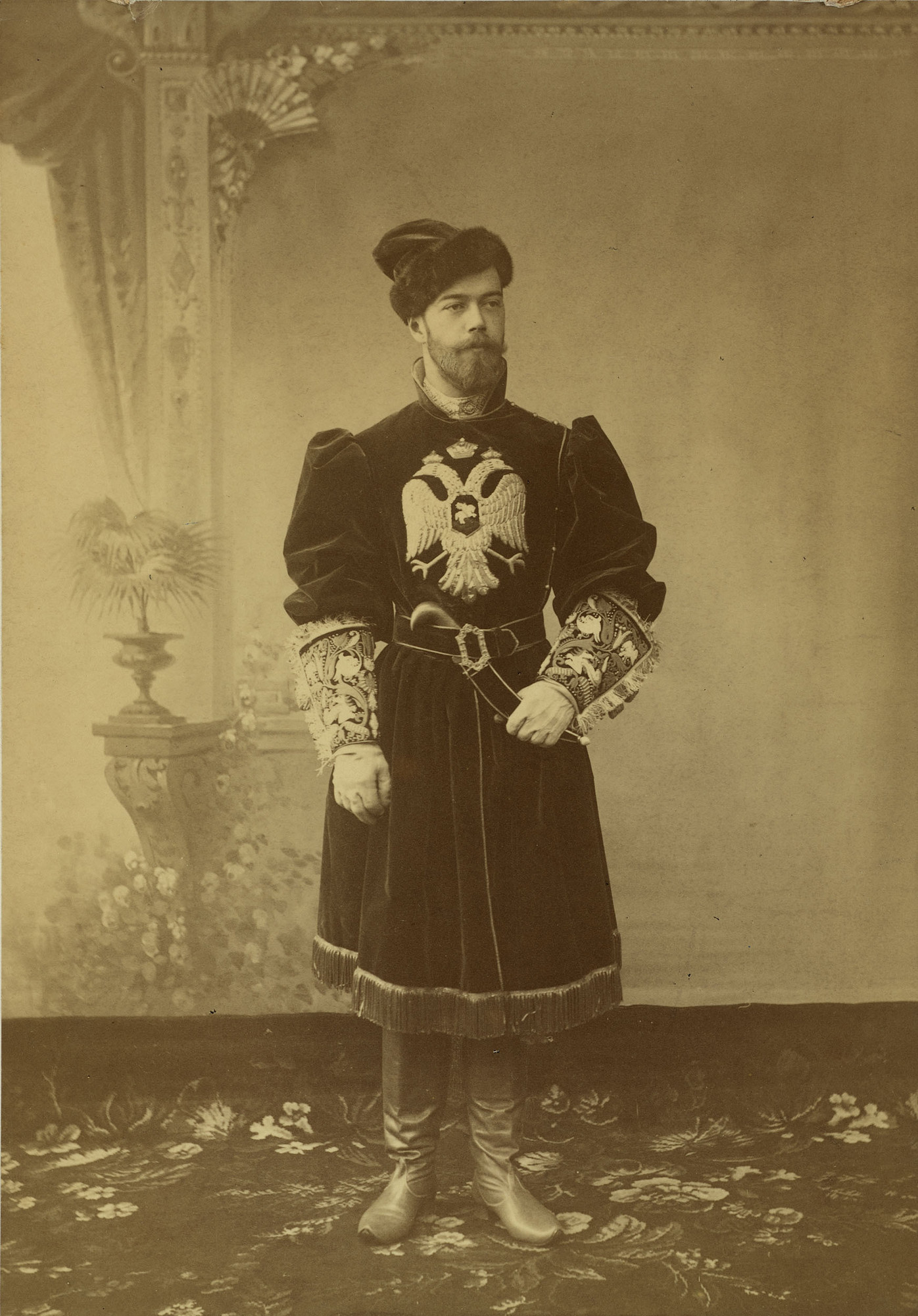 Nicholas II, Emperor of Russia (1868-1918) when Tsesarevich 1894Your share link is...