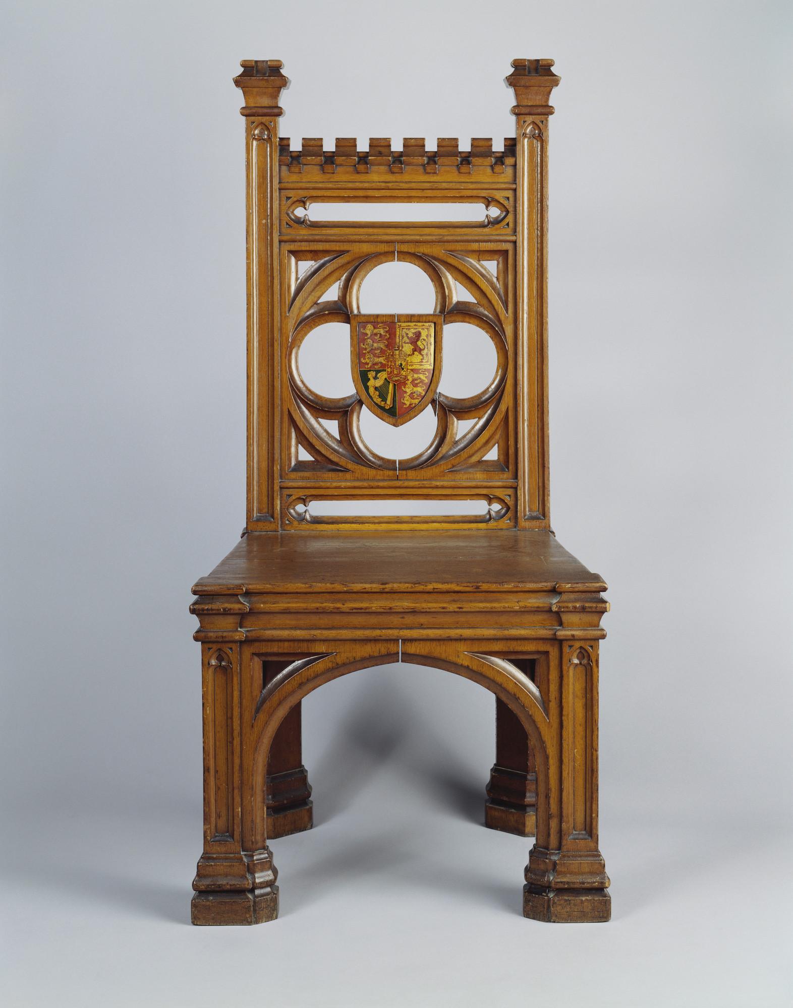Augustus Welby Northmore Pugin 1812 52 Side Chair # Augustus Pugin Muebles