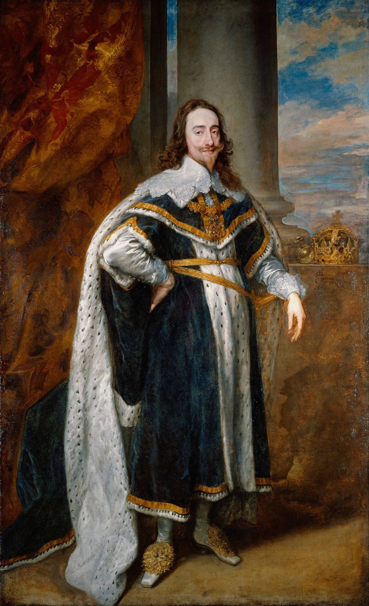Anthony van Dyck (1599-1641) - Charles I (1600-1649)