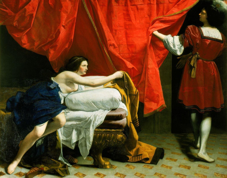 Orazio Gentileschi, Joseph and Potiphar's wife