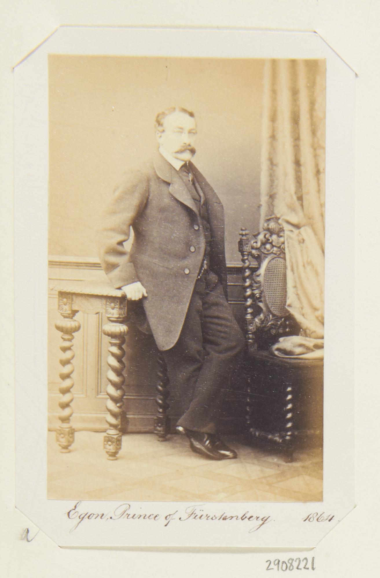 Unknown Person - Egon, Prince of Fürstenberg