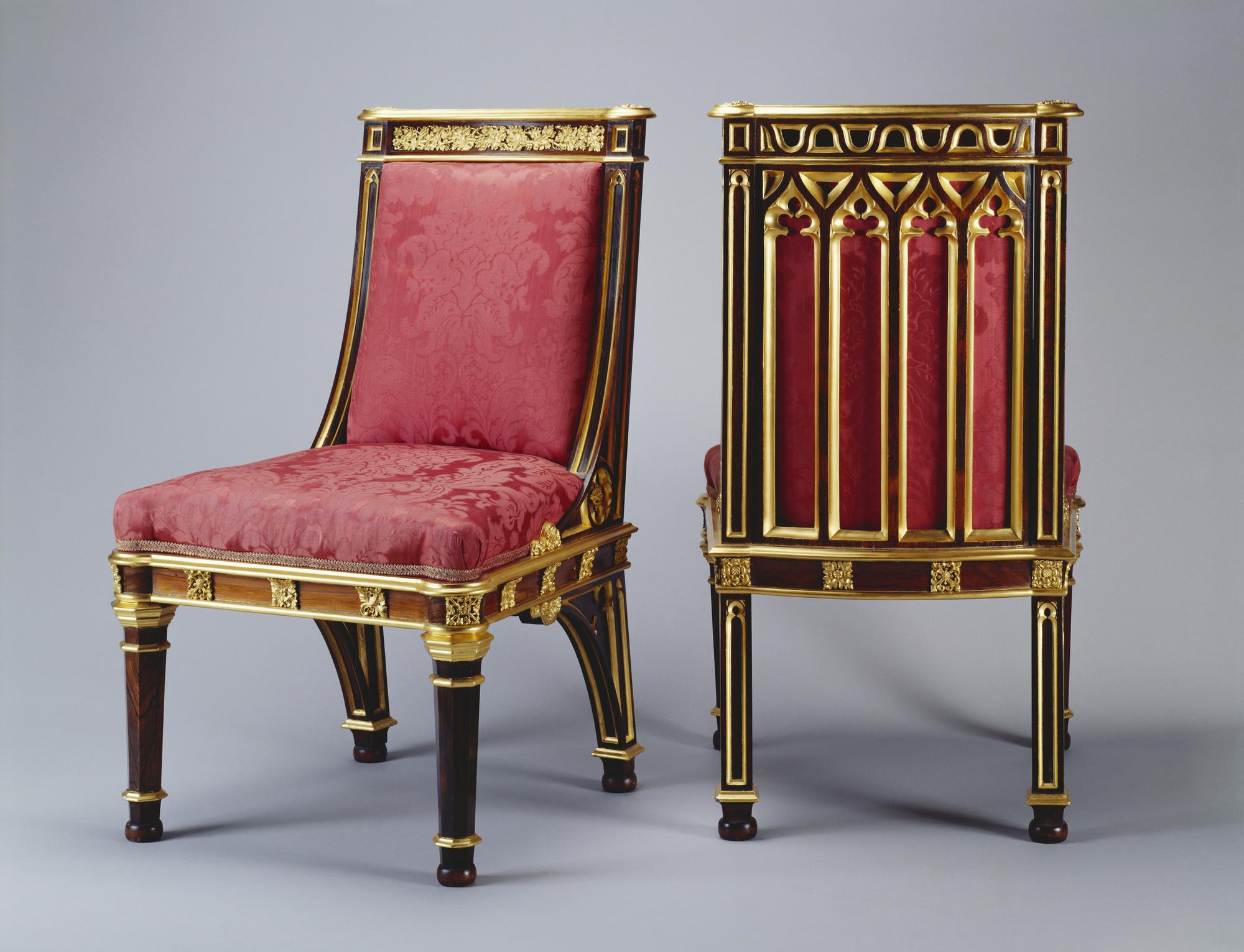 Augustus Charles Pugin 1762 1832 Chair # Augustus Pugin Muebles