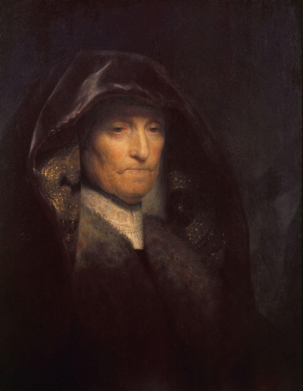 Rembrandt van Rijn (Leiden 1606-Amsterdam 1669) - An old Woman called The  Artists Mother