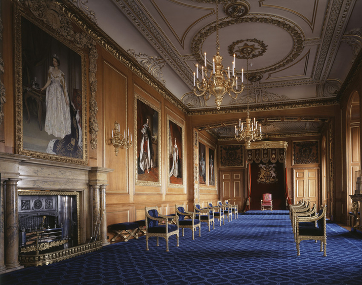 Throne Room at Windsor Castle