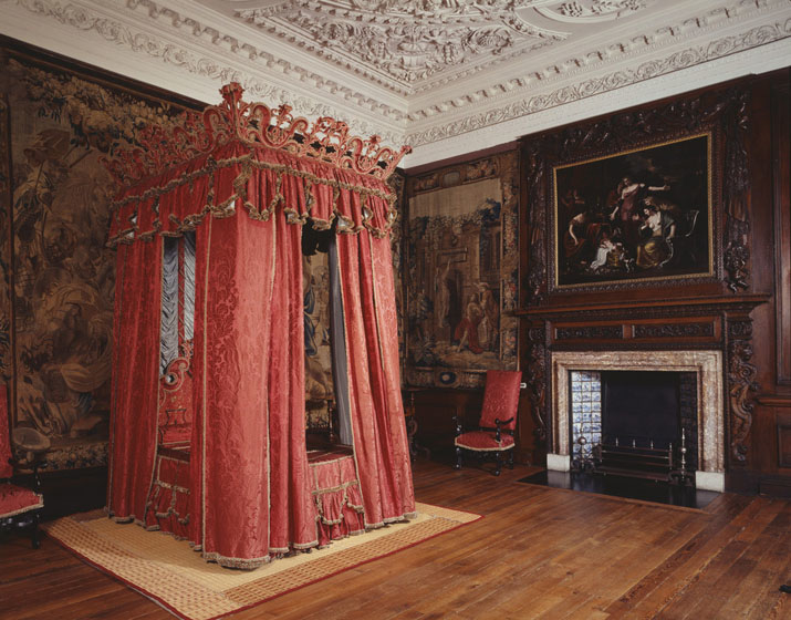 The King's Bedchamber at the Palace of Holyroodhouse