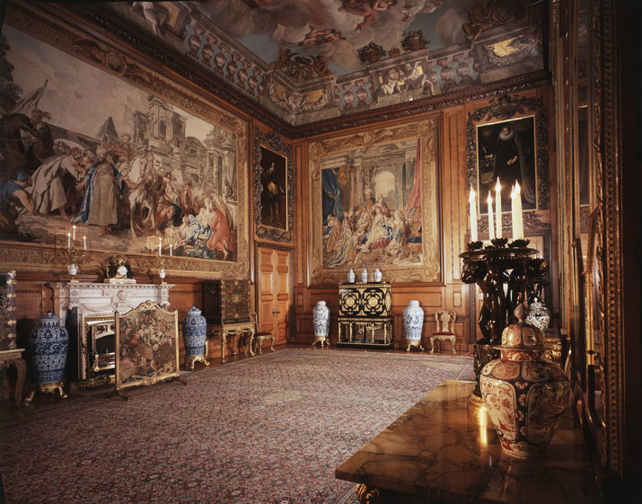 The Queen's Audience Chamber at Windsor Castle