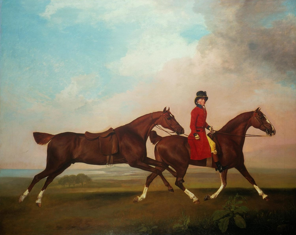 The Royal Collection holds an important group of paintings by George Stubbs; all of them were acquired by George IV when Prince of Wales and all of them (with the exception of OM 1115, 400512) were sent in 1822 from Carlton House to the King's Lodge