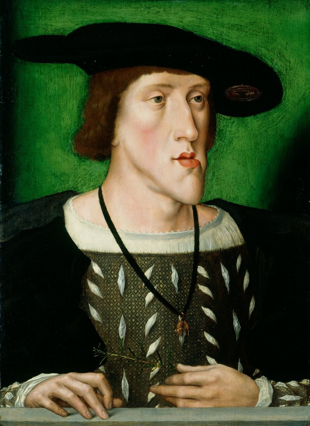 The son of Philip the Handsome and Joanna the Mad, Charles V was born in Ghent and raised in Mechelen (Malines) by his aunt, Margaret of Austria. At the age of 6 he succeeded his father as ruler of the Low Countries, although Margaret acted as regent unti
