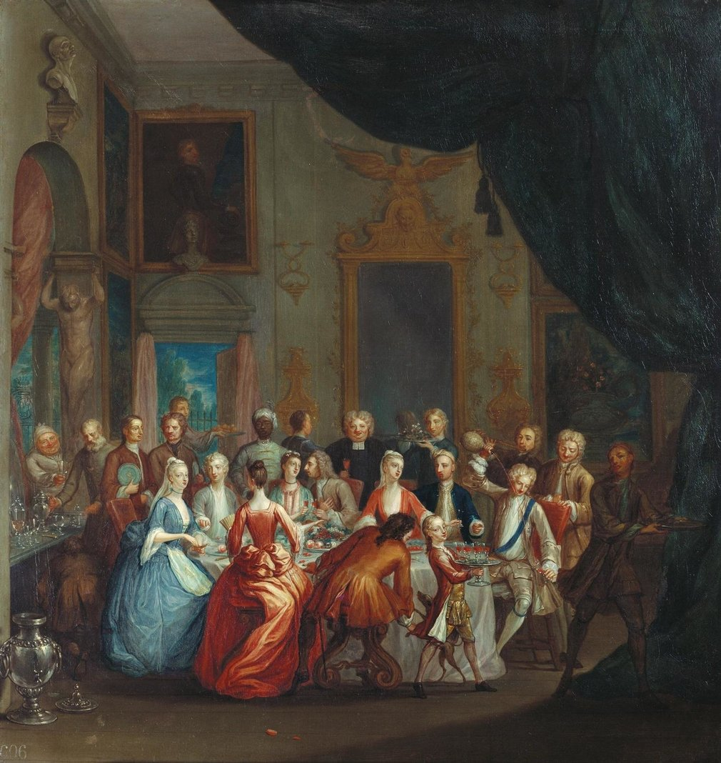 Marcel Lauron was a French painter who had settled in The Hague in Holland in the mid-seventeenth century. He moved to England sometime before 1674, accompanied by his son, Marcellus Lauron (1653-1702). By 1680 Marcellus had married an Englishwoman and se