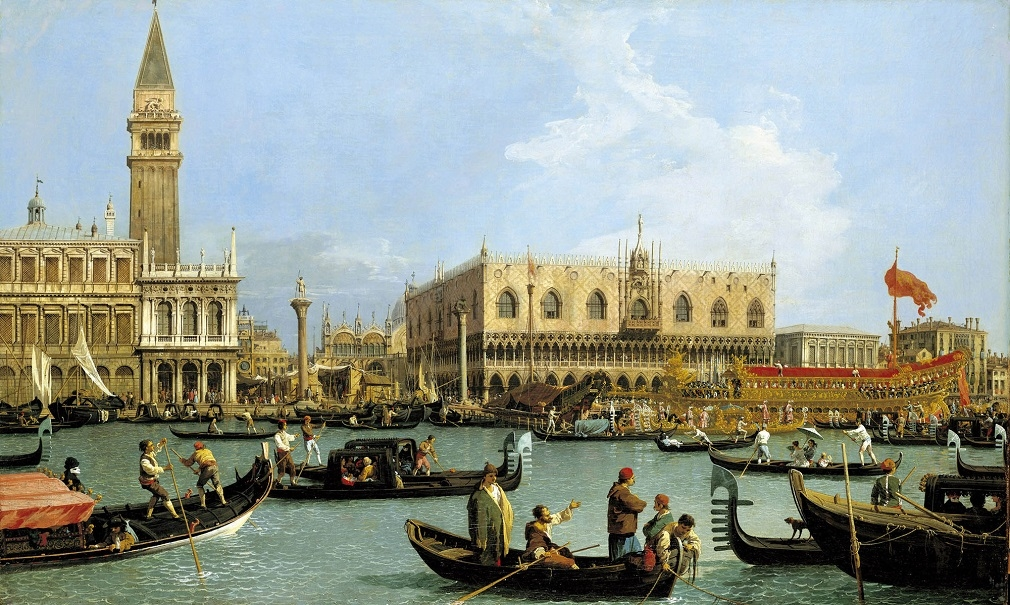 Canaletto's The Bacino di San Marco on Ascension Day