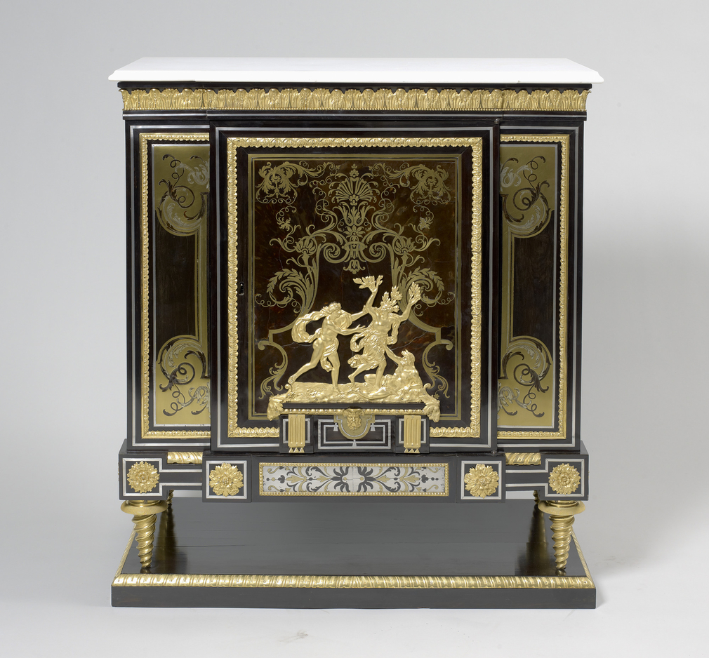 Master: Pair of Boulle Cabinets Item: Boulle Cabinet
