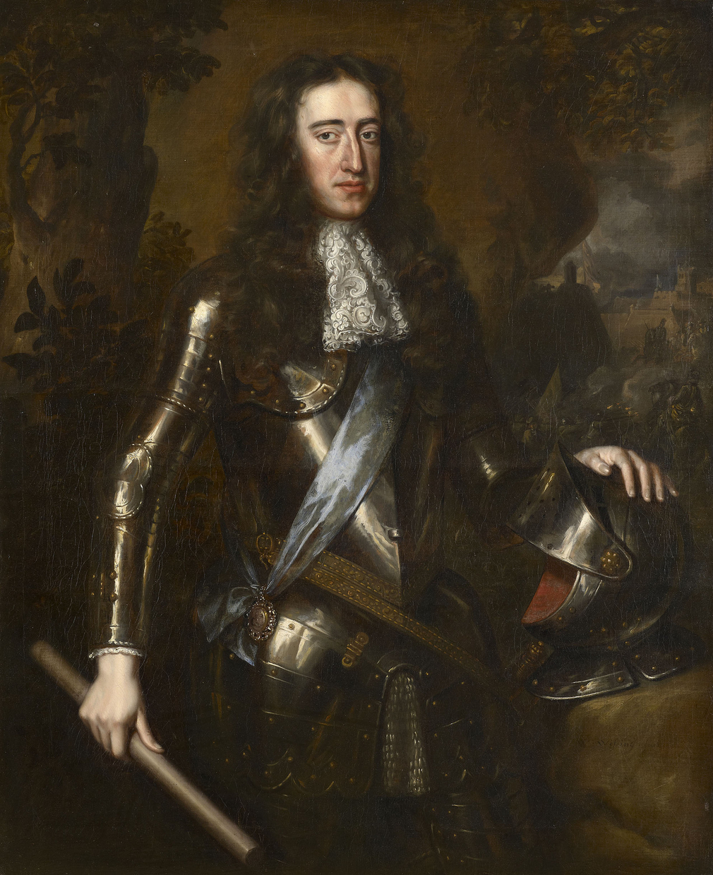 Wissing was a Dutch artist who came to London in 1676, studied with Sir Peter Lely and effectively took over the business for the seven years between Lely's death in 1680 and his own in 1687 (aged only thirty one). All the works by Wissing in the Ro