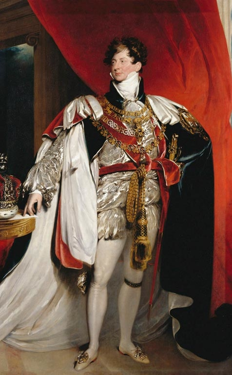 George IV, Studio of Sir Thomas Lawrence (RCIN 404933)