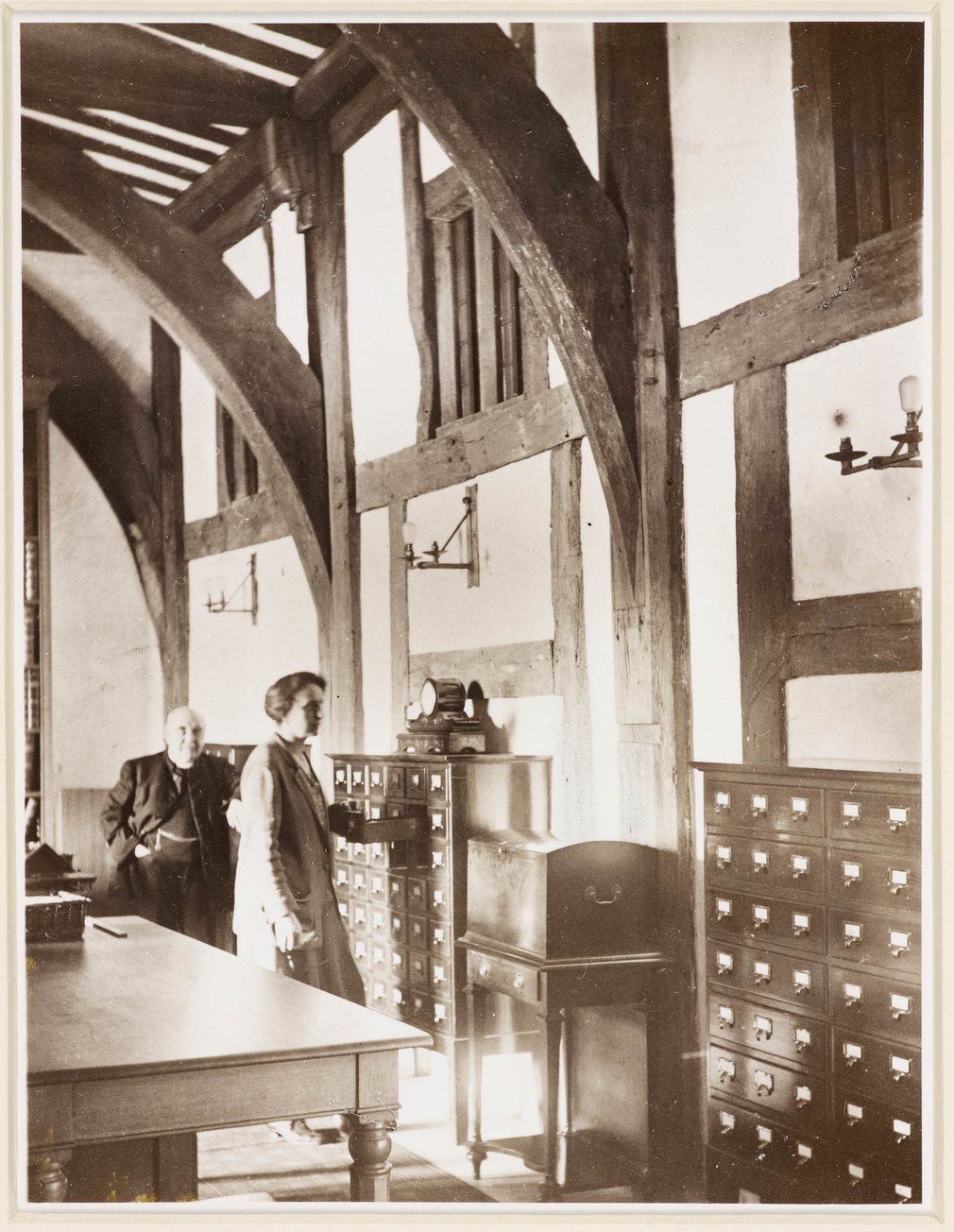 The Muniment Room, used by the Royal Archives in 1929