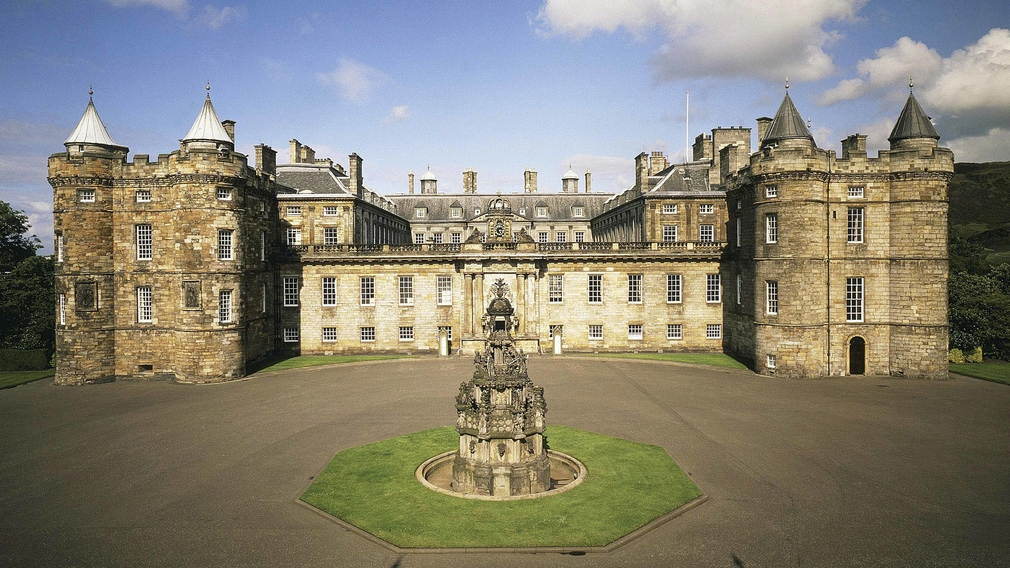 Exterior of the Palace of Holyroodhouse