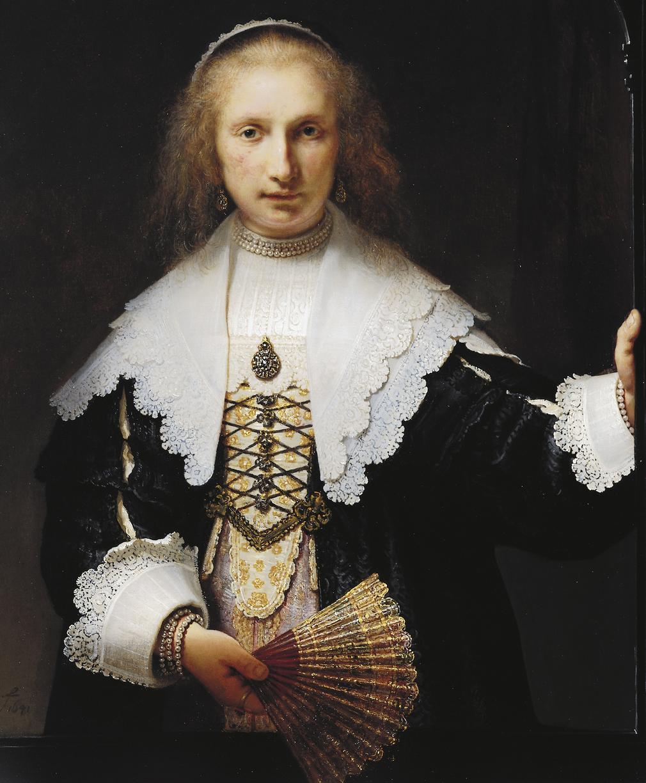 Rembrandt's Agatha Bas