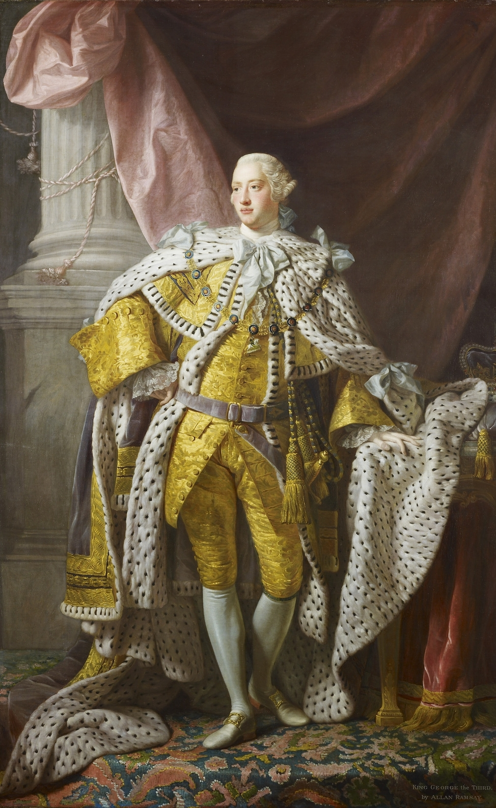 Allan Ramsay, State portrait of George III, 1761-2