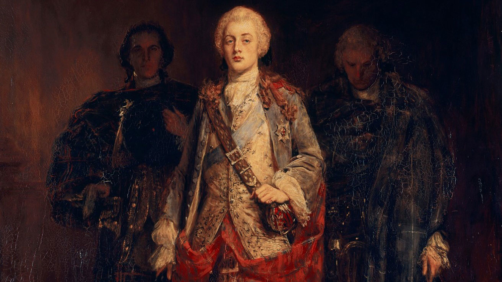 John Pettie, Bonnie Prince Charlie Entering the Ballroom at Holyroodhouse, before 30 April 1892