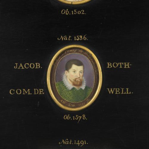 Miniature portrait of a man called James Bothwell