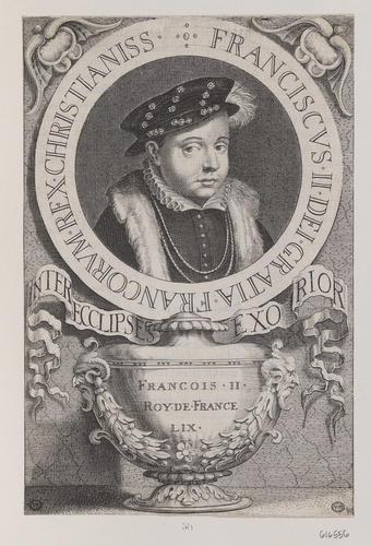 Engraving of Francois II, King of France