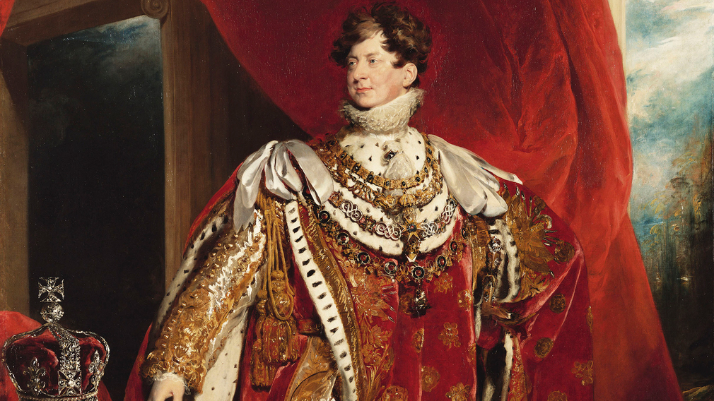 A portrait of George IV by Sir Thomas Lawrence