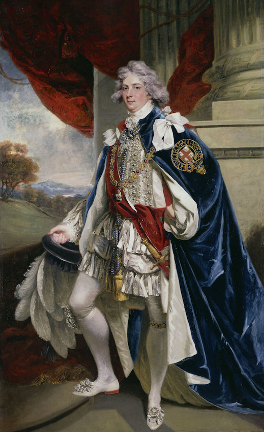 George IV as the Prince of Wales, 1796