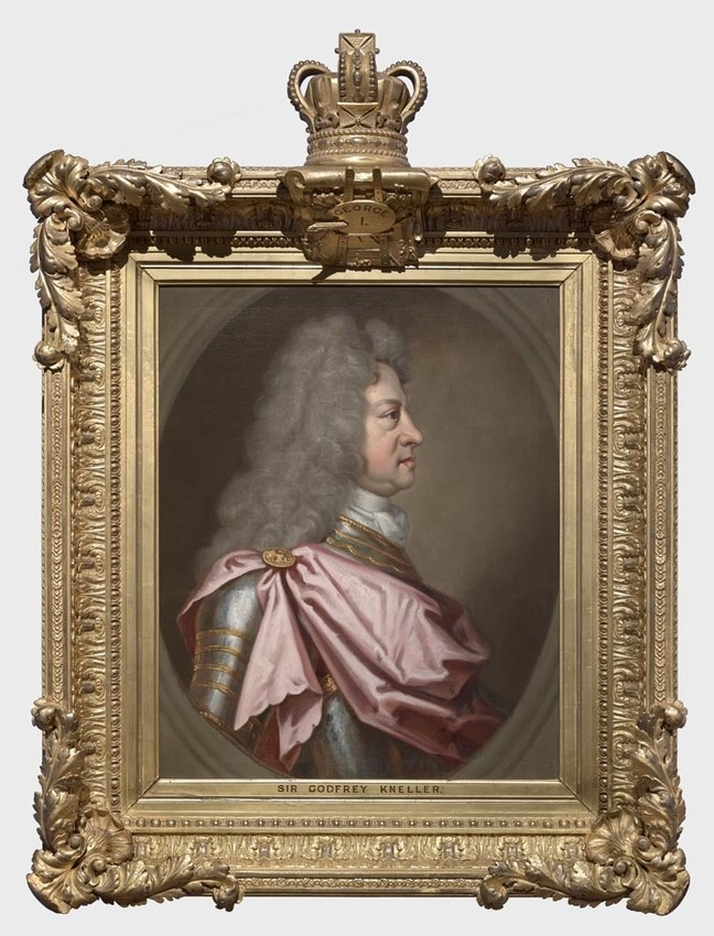 Portrait of George I
