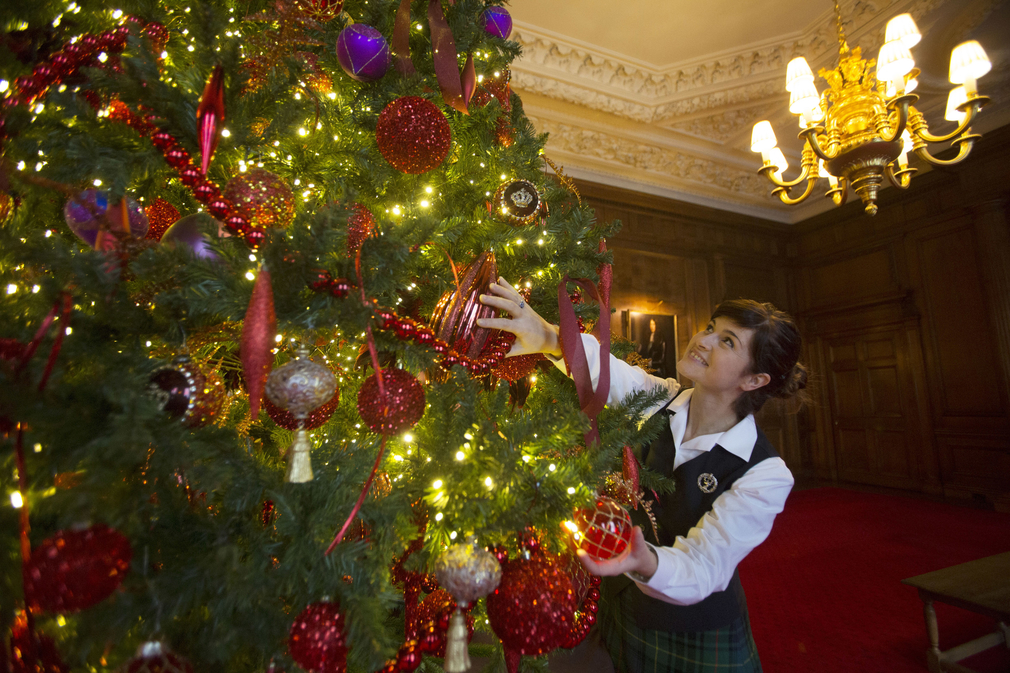 Christmas At The Palace.Christmas At The Palace Of Holyroodhouse