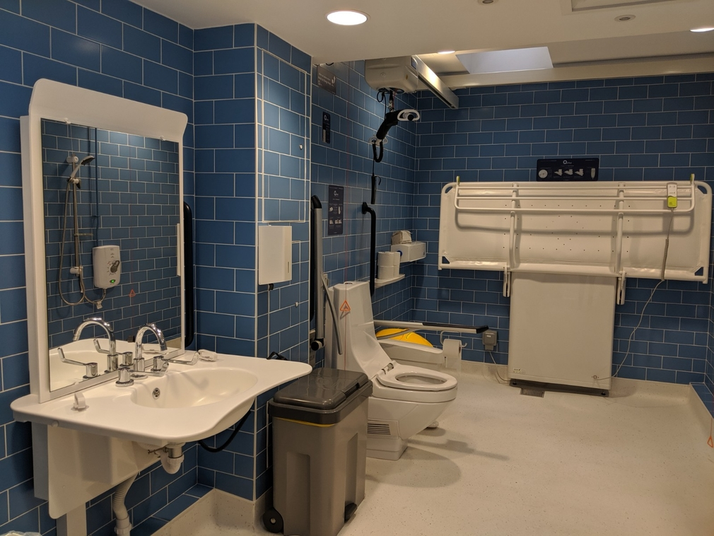 Image of the Changing Places toilet