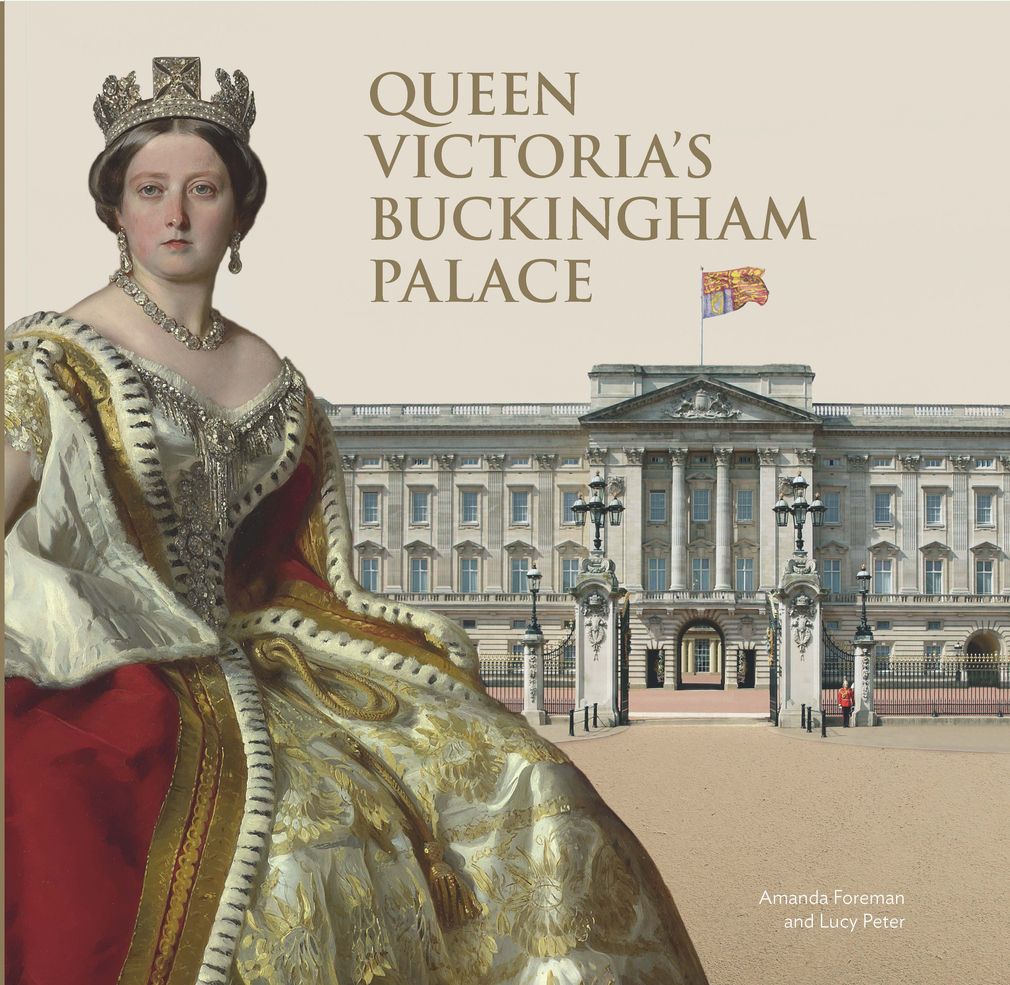 The front cover of 'Queen Victoria's Buckingham Palace'