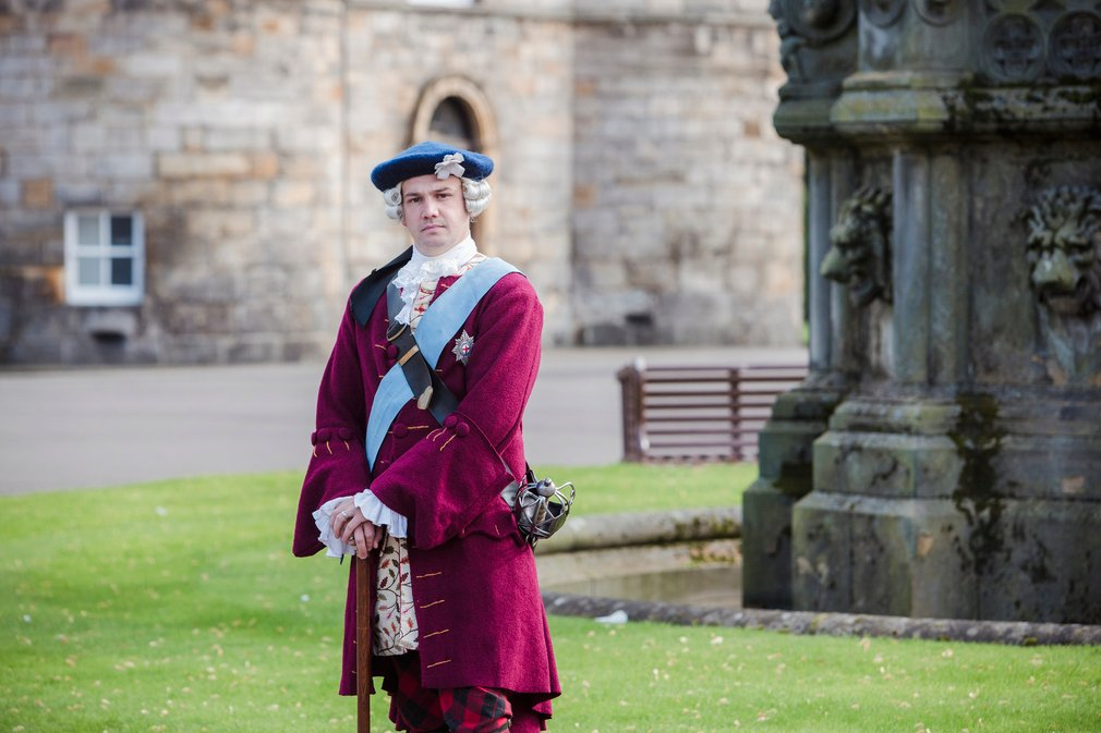 The Jacobites Festival Day at the Palace of Holyroodhouse