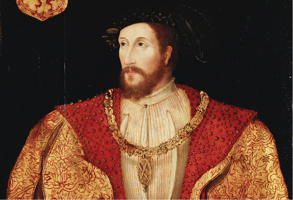 James V of Scotland (1512-1542), who used Abbey Strand as a weapons store in 1541.