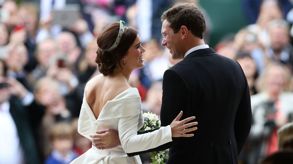 The wedding of HRH Princess Eugenie and Mr Jack Brooksbank at Windsor Castle in October 2018