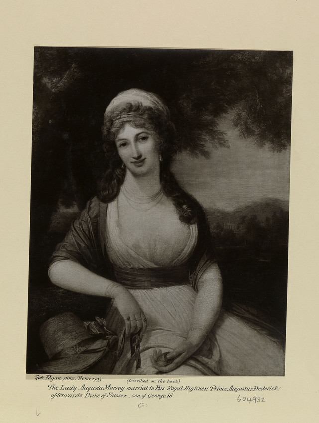 Painting of Lady Augusta Murray