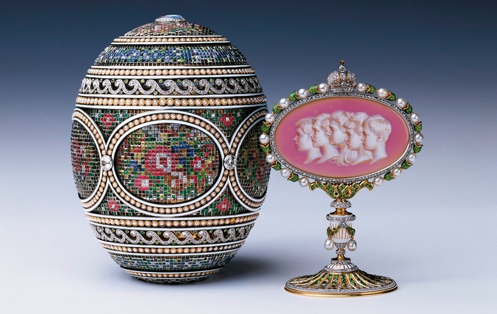The Mosaic Egg and Surprise