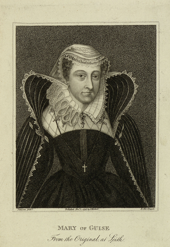 Engraving of Mary of Guise