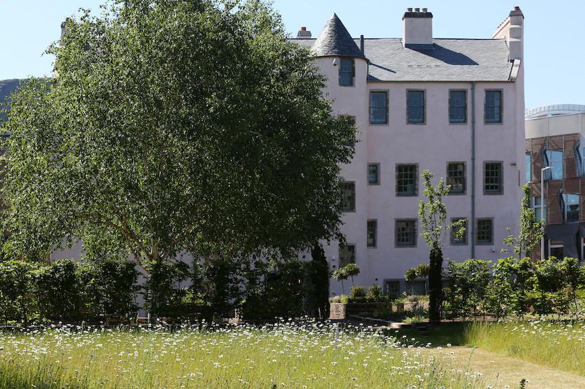 Physic Garden, Palace of Holyroodhouse