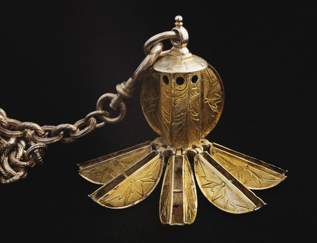 Pomander said to belong to Mary, Queen of Scots